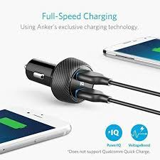 Anker Dual Port Car Charger Anker Ultra Compact 24w 2 Port Car Charger Powerdrive 2 Elite With