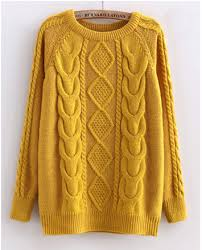 yellow sweater cabled sweater in yellow 50th cable sweater and cable
