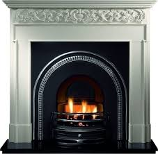 gallery traditions cast iron arched insert stanningley firesides