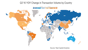Asia Pacific Map by Q3 2016 Global And Asia Pacific Capital Trends Global Activity