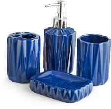 Royal Blue Bathroom Decor by Chumbak