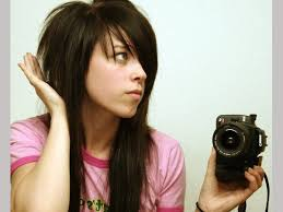 short top layers for long hair 35 charming scene hairstyles for girls slodive