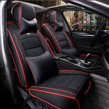siege auto avant voiture avant arrière siège de voiture en cuir spécial couvre pour