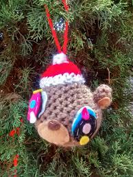 crochet yeezy ornament