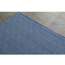 Rugs For Outdoors Shop Diamonte Royal Blue Outdoor Rug 5ft X 8ft Nuloom Rugs