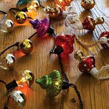 mercury glass string lights multicolor mercury glass finial 10 bulb string lights world market