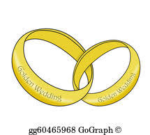 linked wedding rings stock illustration silver wedding linked rings clipart drawing