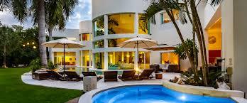 luxury villa for rent playa del carmen villa aqua