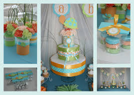 partylicious turtle baby shower