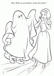 Disney Coloring Pages Halloween by Halloween Princess Disney Coloring Pages Free Printable Coloring