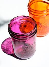 how to make colored mason jars lilyshop by jessie daye