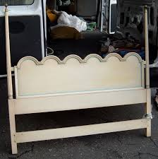 queen size painted headboard for sale antiques com classifieds