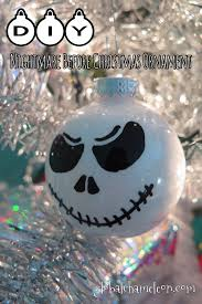 12 days of diy ornaments day 2 nightmare before christmas