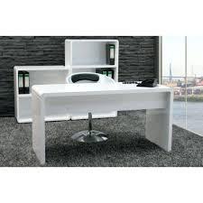 White High Gloss Computer Desk Furniture Computer Desk White Gloss Office Desks Curved In