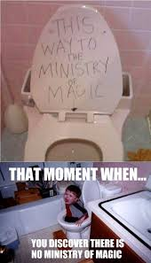 Grossed Out Meme - ultra gross welcome to the ministry of magic