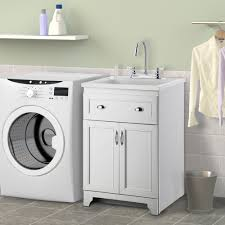 freestanding utility sink with cabinet laundry room utility sink