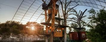treehouses cypress valley canopy tours austin texas usa