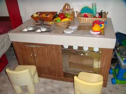 cardboard play kitchen partial to home