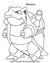 pokemon coloring pages blastoise art galleries in pokemon coloring