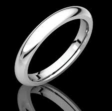 Platinum Comfort Fit Wedding Band Heavy Comfort Fit Wedding Bands 1weddingband Com Div Of Houston