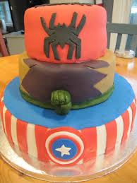 spiderman cake u2013 erica u0027s edibles
