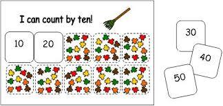 math ideas for fall theme leaf