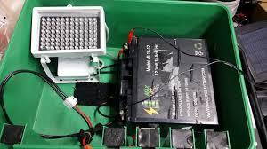 green light for hog hunting diy remote hog hunting ir lights