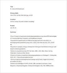 cover letter sample java developer