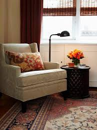 Pumpkin Colored Curtains Decorating Living Room Small Fall Colors Living Room Reading Nook Interior