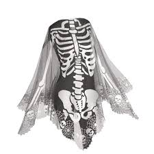 skelton halloween amazon com heritage lace skeleton poncho 60 by 60 inch pewter