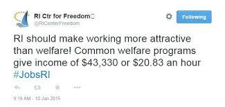do u0027common welfare programs u0027 pay the equivalent of a 20 83 per