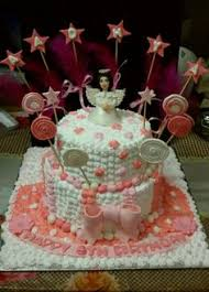 Angel Decorated Cake Drarchana Diwan Diwanarchana On Pinterest