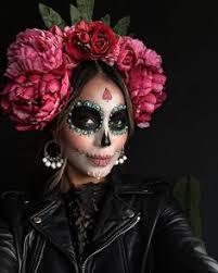 Dead Halloween Costumes Red Eyed Mexican Death Mask Dead Día Los Muertos