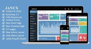 15 best free responsive admin dashboard templates