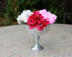Silver Vases Wedding Centerpieces Silver Vases Etsy