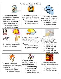 physical to chemical changes physical and chemical change