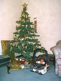 christmas trees from christmas past on 8th day december