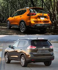 Nissan Rogue New Body Style - 2017 nissan rogue vs 2014 nissan rogue in images