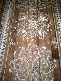 Painted Rug Stencils Best 25 Painting Rugs Ideas On Pinterest Paint Rug Paint A Rug