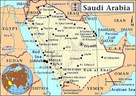 rub al khali map special reports the of central