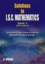 solution to isc mathematics for xii buy solution to isc