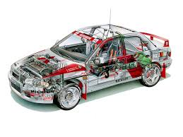 lego mitsubishi evo mitsubishi lancer evolution iii gr a wrc u00271996 cutaway cars