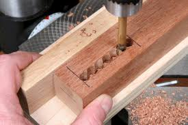 joinery how do you make mortise and tenon joints using power