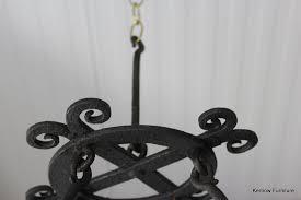 Iron Ring Chandelier Iron Ring Chandelier