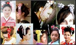 kanzashi hair ornaments hair accessories kanzashi japanese hair ornaments geisha kimono