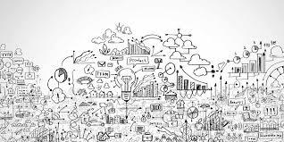 a mountain of social media marketing ideas insights