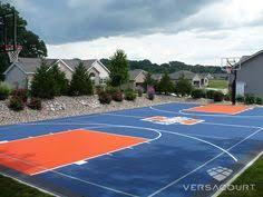 Backyard Basketball 2001 Full Size Backyard Basketball Court Full Basketball Courts