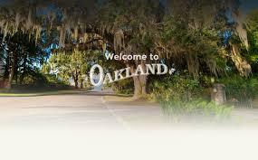 oakland fl official website