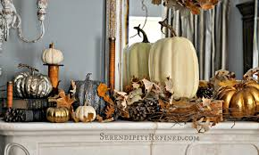 Rustic Fall Decor Serendipity Refined Blog French Country Fall Mantel Neutrals
