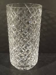 Vintage Waterford Crystal Vases Vintage Waterford Cut Crystal Waffle Pattern 10